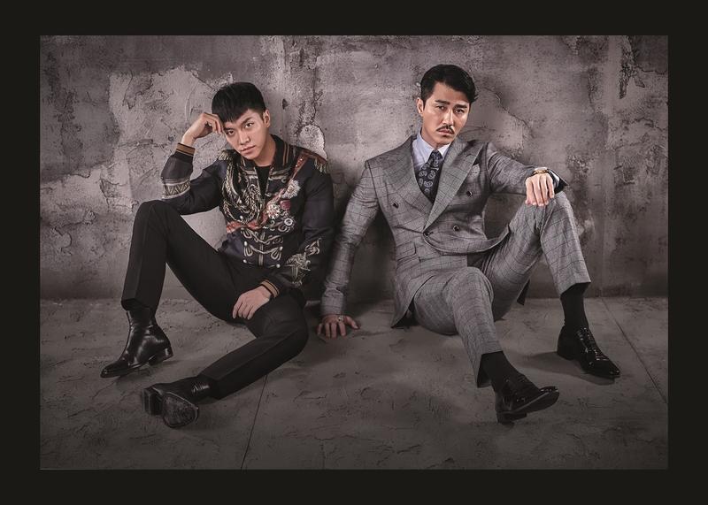 李昇基(左)、車勝元主演的《花遊記》,在韓國以外的地區由Netflix代理播出。(Netflix提供)