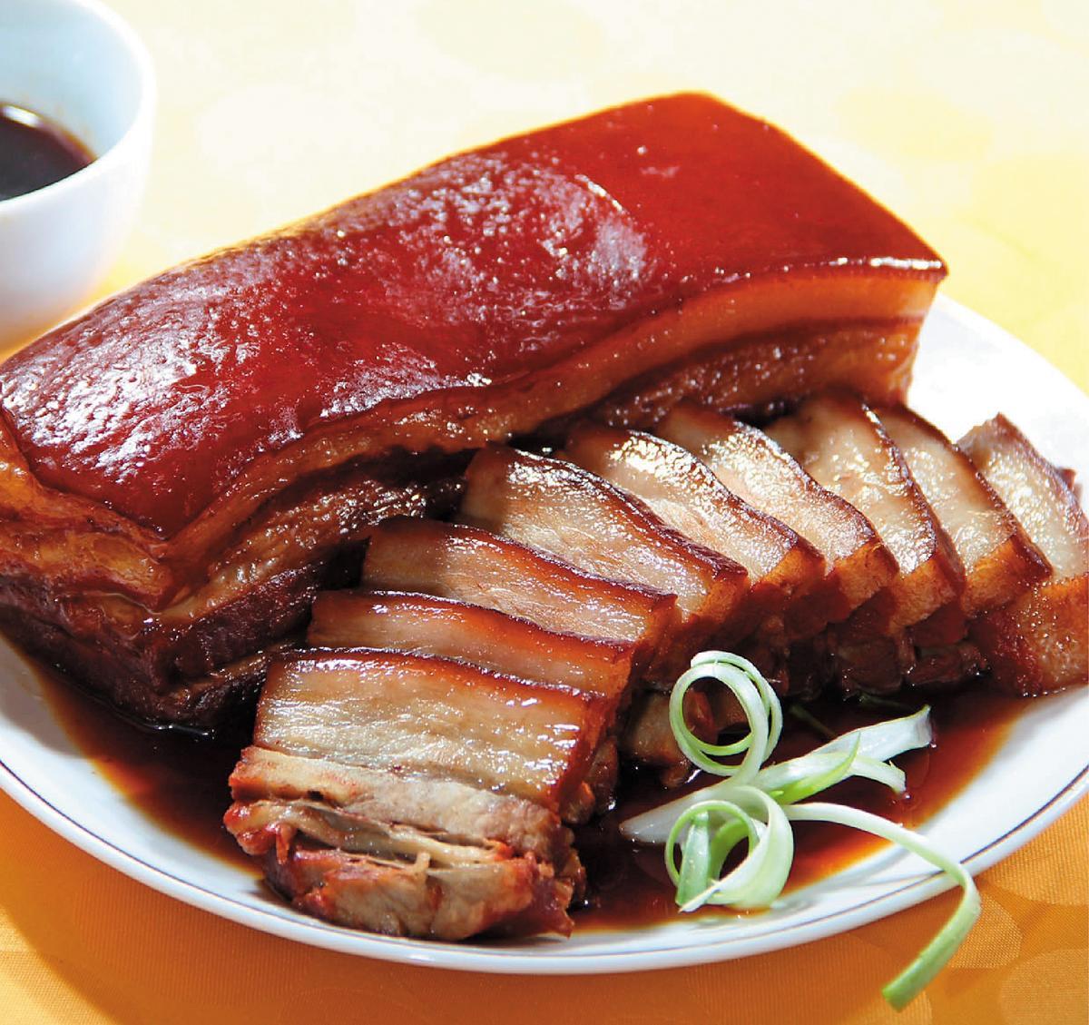 億長御坊的招牌東坡肉。(翻攝網路)