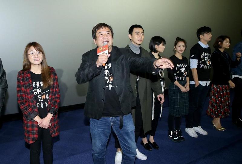 瞿友寧每週開行銷電影會議,沙盤推演,期待《花甲》夾帶粉絲經濟,至少能衝出1億元票房。(氧氣電影提供)