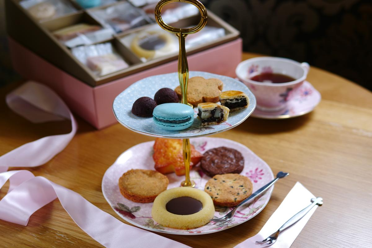 口味及數量皆可以客製化的「喜餅禮盒」。(598元~1,188元/盒)