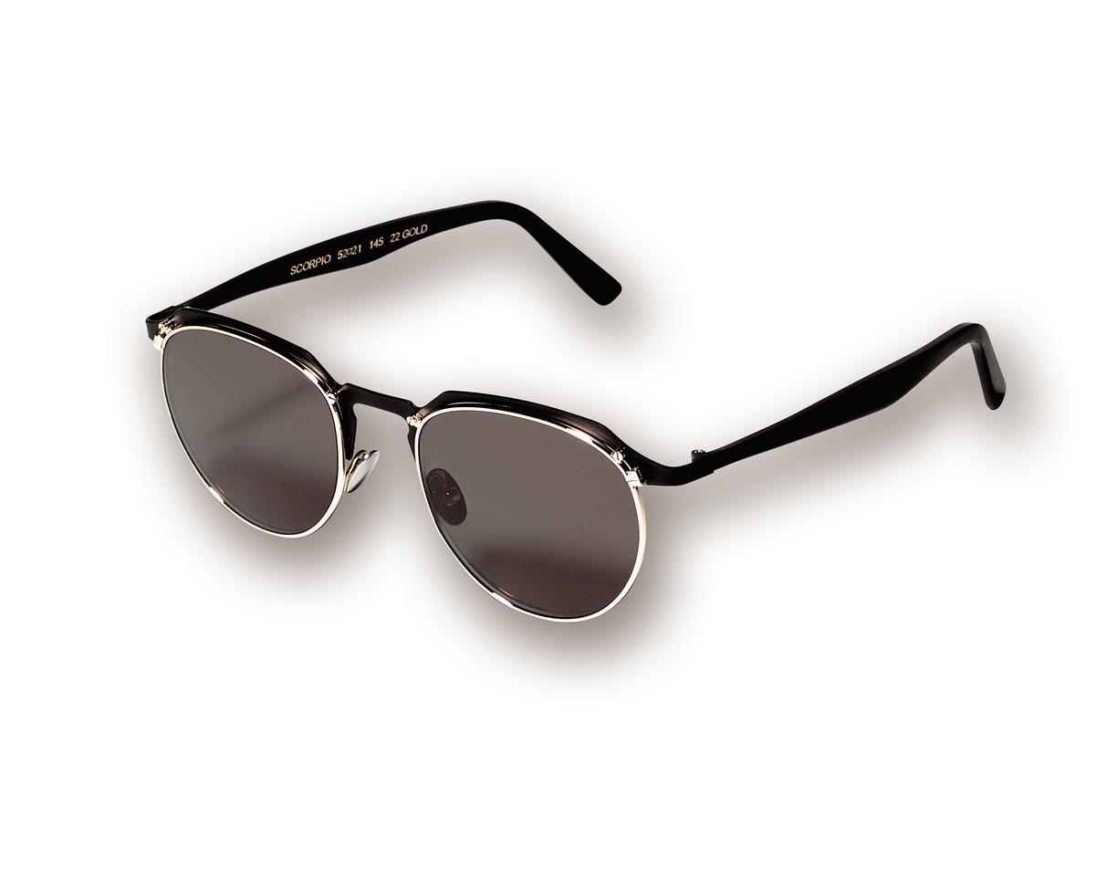 L.G.R 復古半框太陽眼鏡,NT$16,000。