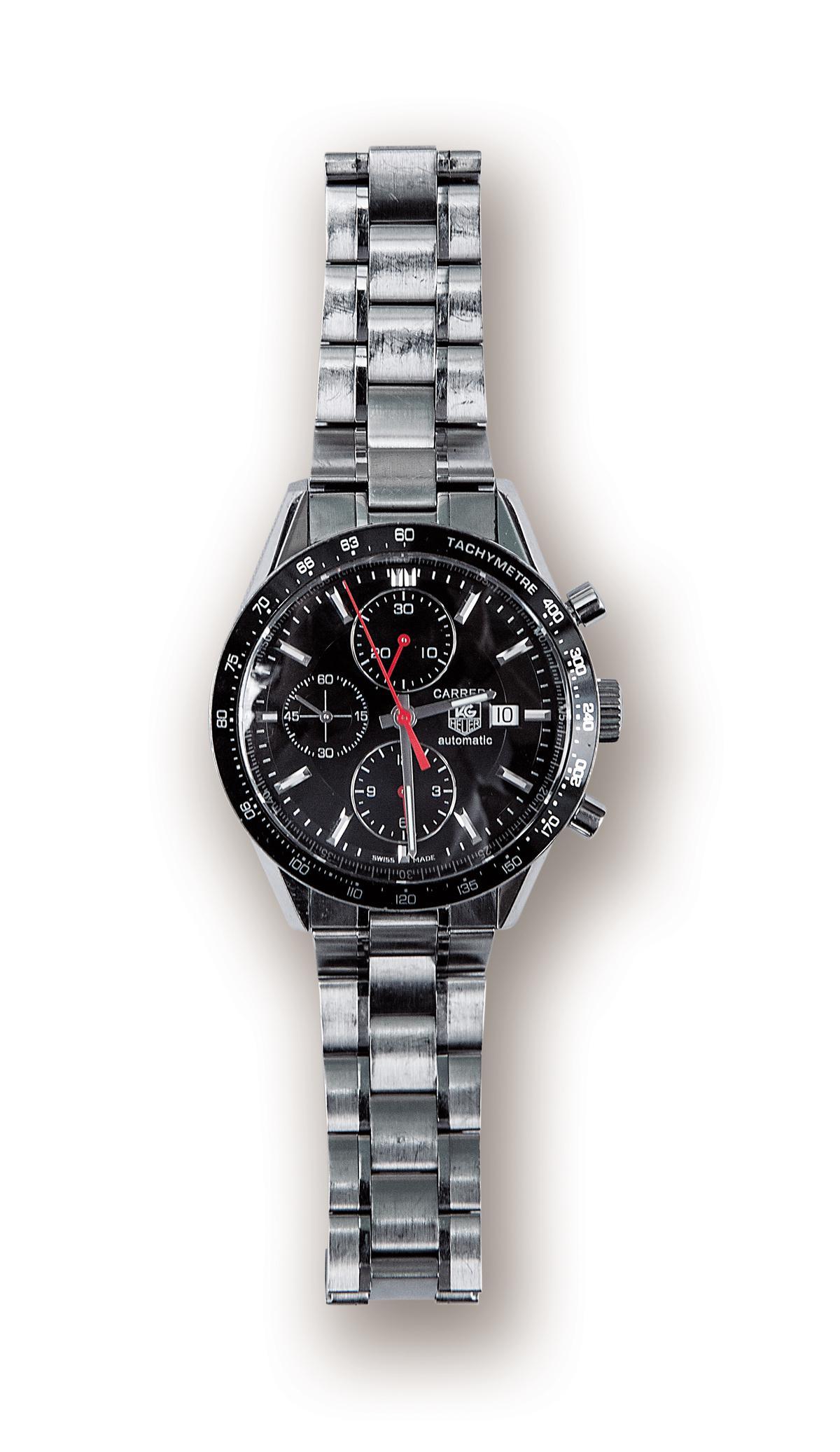 TAG Heuer手錶,貴人送的禮物。