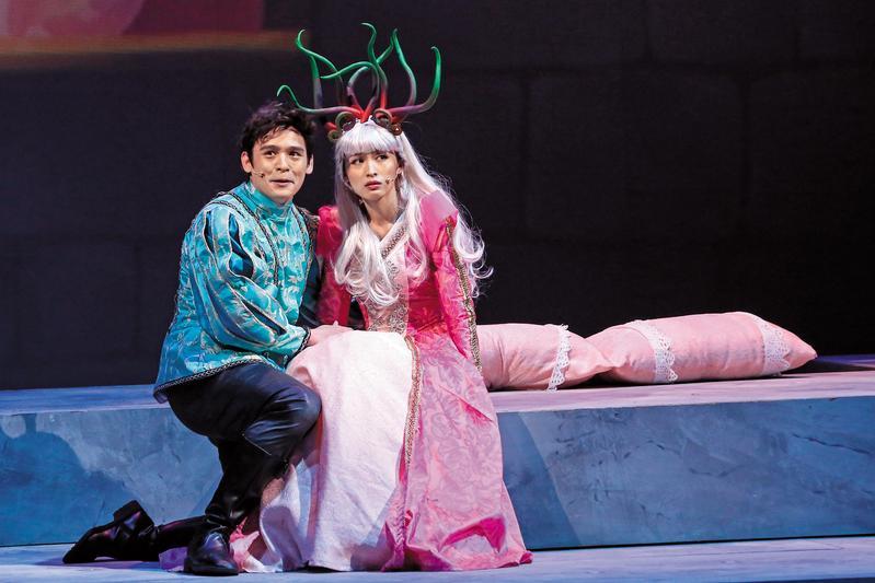 倪安東與管罄合作《千面惡女》音樂劇後產生情愫,遭倪妻提告求償。