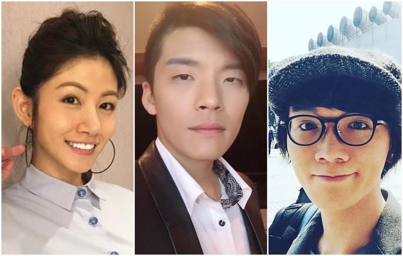 《超級星光大道》捧紅了許多歌手。左起:李千娜、劉明峰、謝震廷。