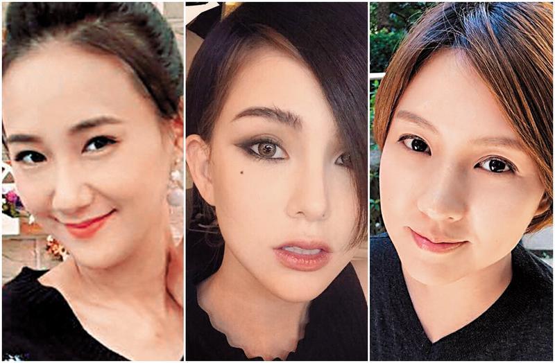 演藝圈中有不少女藝人的老公也屬於「住海邊」。左起:何妤玟、昆凌、朱芯儀。