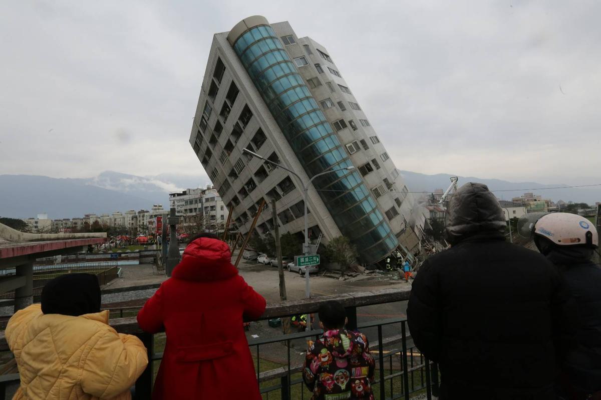 雲翠大樓的建築設計工法屬於「單邊騎樓」,恰好騎樓位於米崙斷層帶。