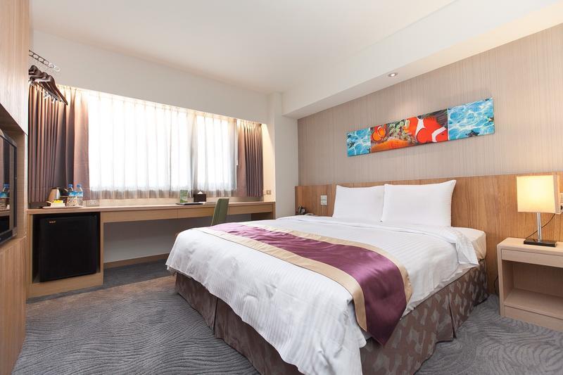 花蓮飯店業者提供災民免費住宿或休息。(花蓮富野渡假酒店提供)