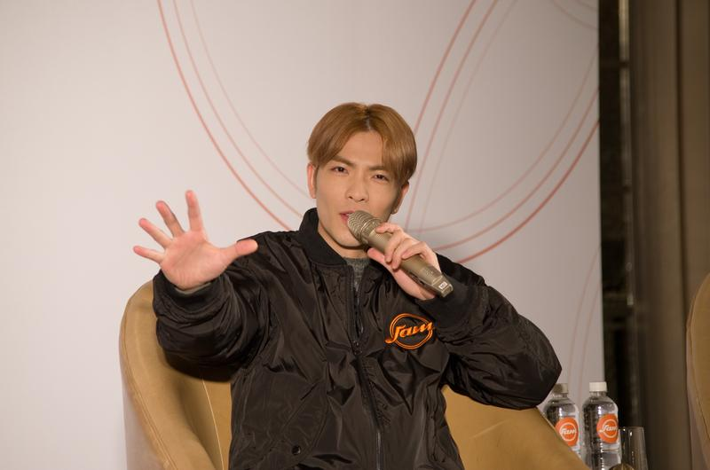 世界電競錦標賽11月在高雄舉辦,蕭敬騰將擔任開幕表演嘉賓。(周文凱攝)