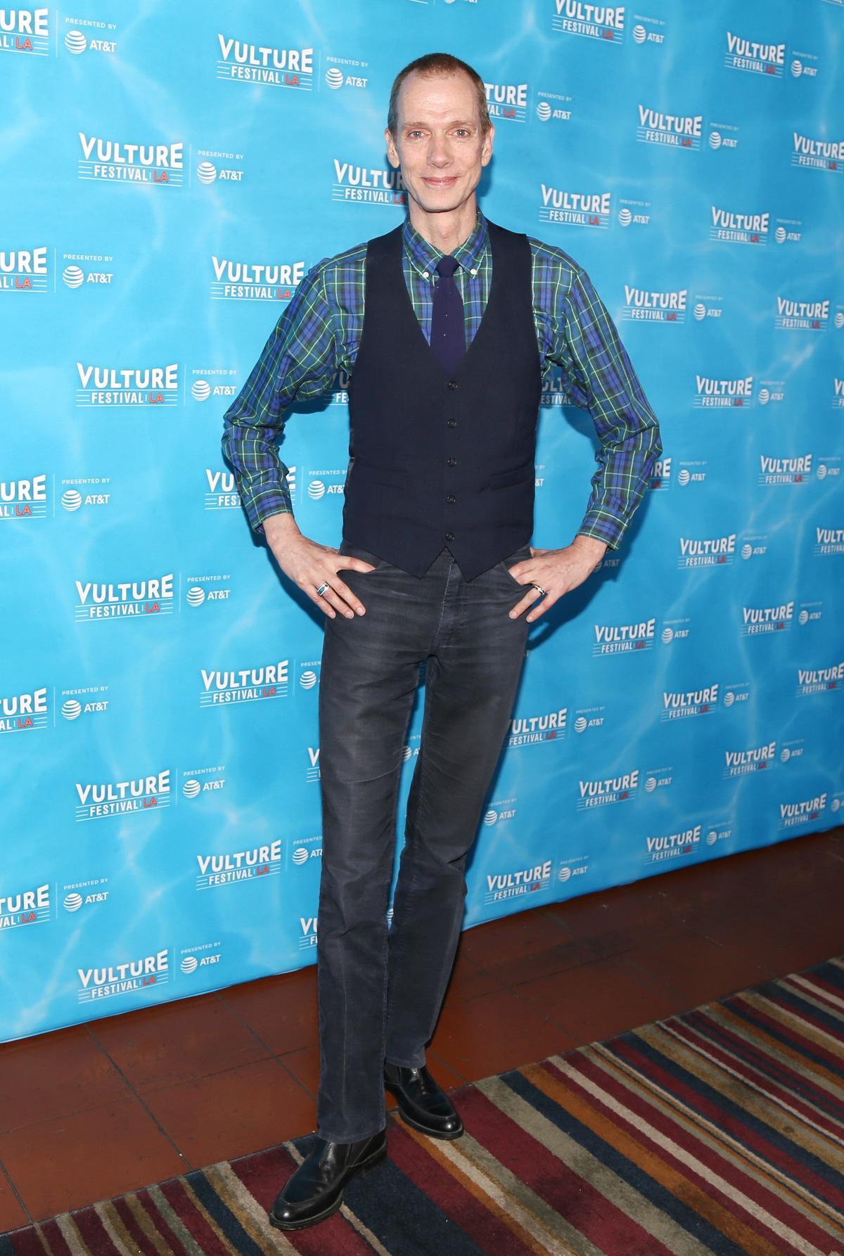 擅長詮釋怪物角色的道格瓊斯,在片中飾演人魚,是他第6次和戴托羅合作。(東方IC)