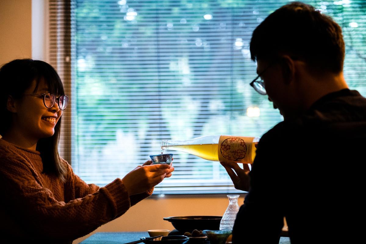果實酒的酒感輕盈、水果味濃,頗受女生歡迎。