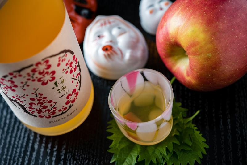 果實酒的酒精濃度大約7~10%,香甜順口無負擔。