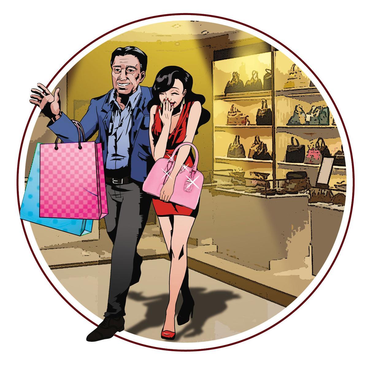 黃進春遭爆多次攜女伴小茹遊澳門,還花數百萬元買名牌包送小茹。