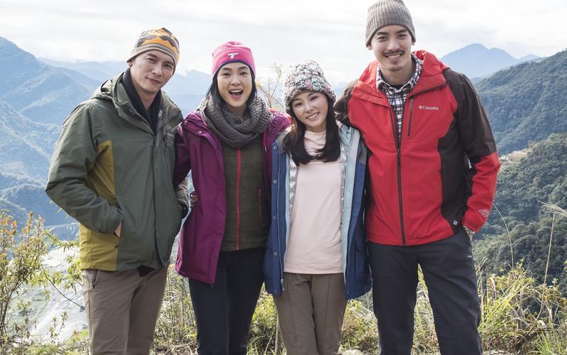 《雙城故事》由陳怡蓉、溫昇豪、曾珮瑜及黃柏鈞領銜主演。(青睞提供)