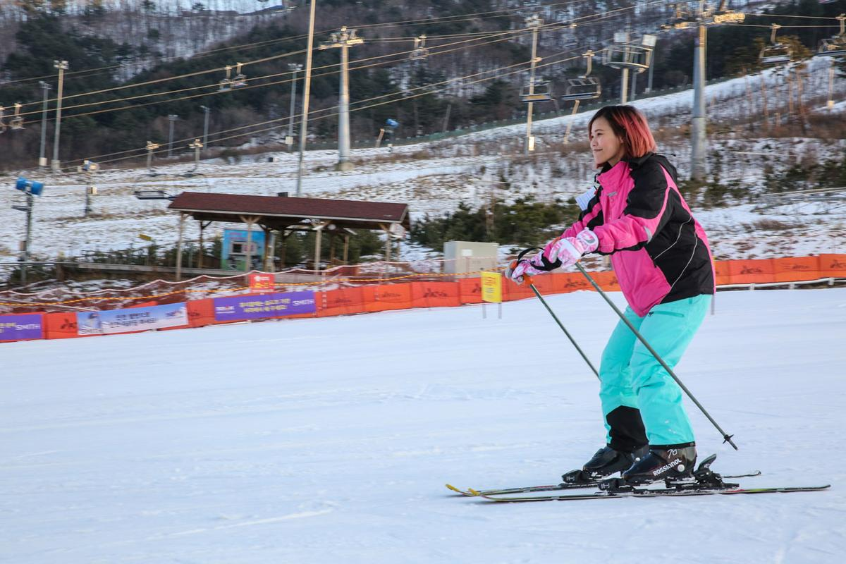 只要1~2個小時,大部分的初學者都能在緩坡上體驗滑雪的樂趣。