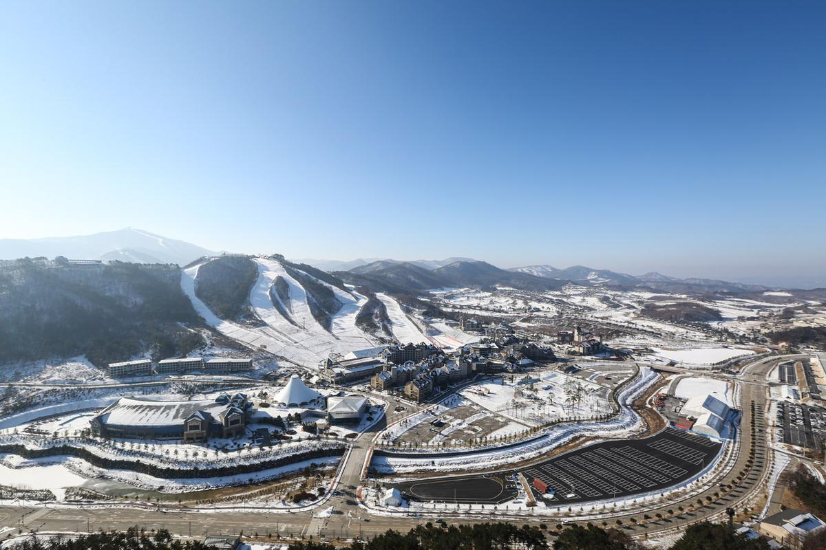 「Alpensia滑雪渡假村」是2018年冬季奧運的滑雪項目的主要比賽場地之一。