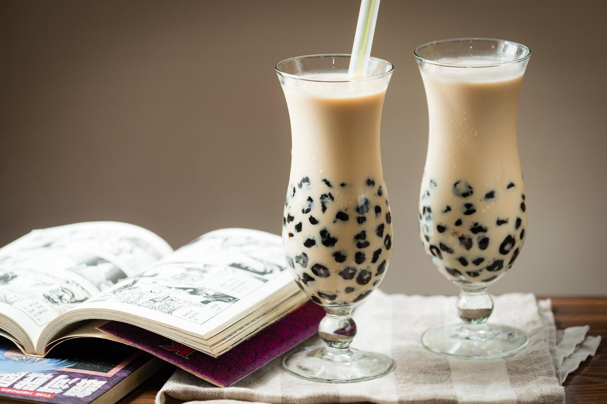廖媽媽珍珠奶茶是基隆學子的甜蜜回憶。(30/杯)