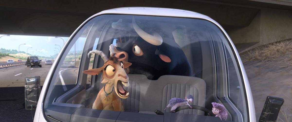 以兒童觀眾為主要目標的動畫片《萌牛費迪南》除夕才上映,也有近1900萬票房。(福斯提供)
