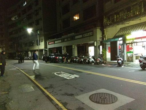陳文忠出身望族卻不學好,今凌晨開車在淡水接未婚妻時,在路旁遭槍手殺害。(警方提供)