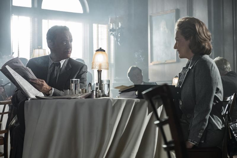 導演史蒂芬史匹柏以《郵報:密戰》借古諷刺今。(UIP提供)