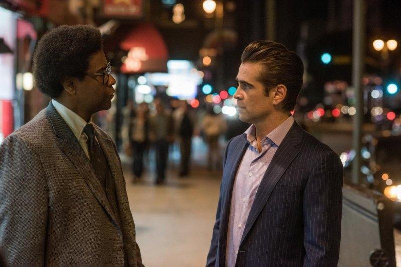 緊扣黑人民權運動探討自由的《羅曼律師》丹佐華盛頓與柯林法洛主演。(捷傑電影提供)