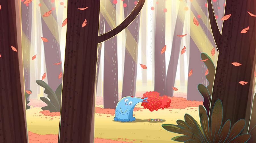 《小樹歪歪》:森林裡有一棵小樹苗,她的名字叫歪歪。歪歪從小就希望能和身旁的大樹一樣,長得又高又直。歪歪有很多好朋友,小蘑菇和小松鼠都喜歡找她玩。 但是當歪歪逐漸長大,卻發現自己不像大樹一樣又高又直,反而彎彎曲曲, 跟其他的樹很不一樣⋯⋯