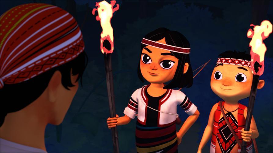 《吉娃斯愛科學》:活潑的8歲泰雅族女孩吉娃斯,夢想是成為部落中第一個女性領袖。吉娃斯會射箭也會織布,但是想當領袖,她還得懂很多才行!在部落青年巴彥的引導下,吉娃斯將學到很多珍貴的科學知識和部落傳統智慧。今天吉娃斯的難題是「生火」,快跟著巴彥和吉娃斯一起學習物體表面積大小和燃燒的有趣關係!