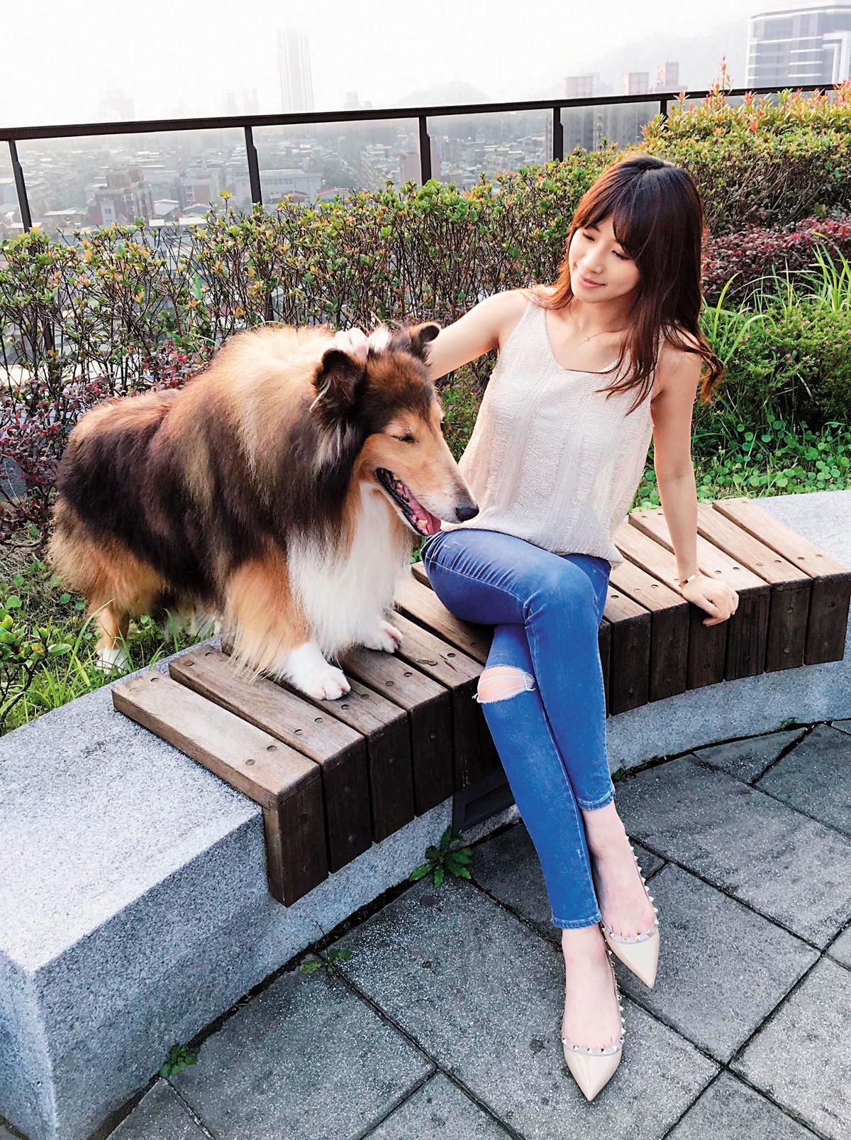 之前趙岱新接受本刊專訪時,說自己對動物相當有愛,是個愛狗人士。