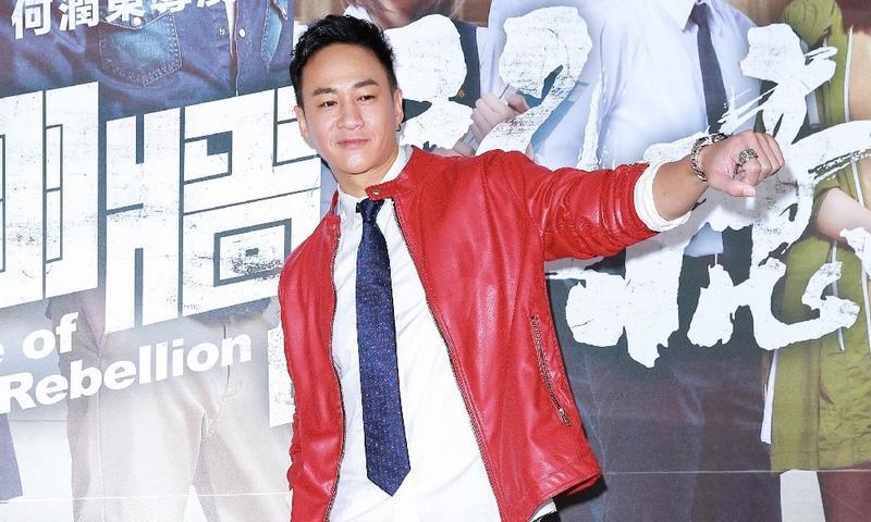 何潤東執導的電視劇《翻牆的記憶》舉辦首映會,他邊看花絮邊落淚。