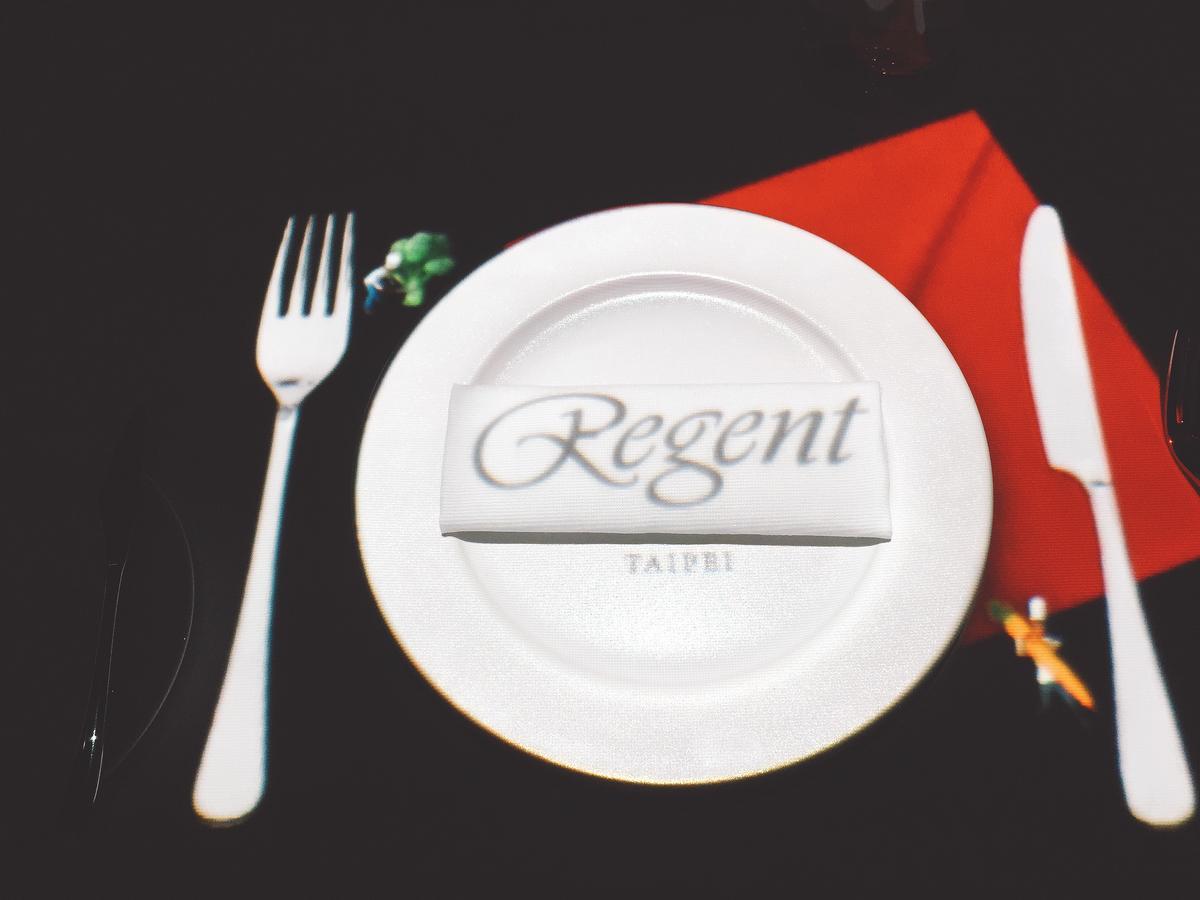 晶華麗晶酒店集團的Logo也是交由影片設計公司出成3D版本。
