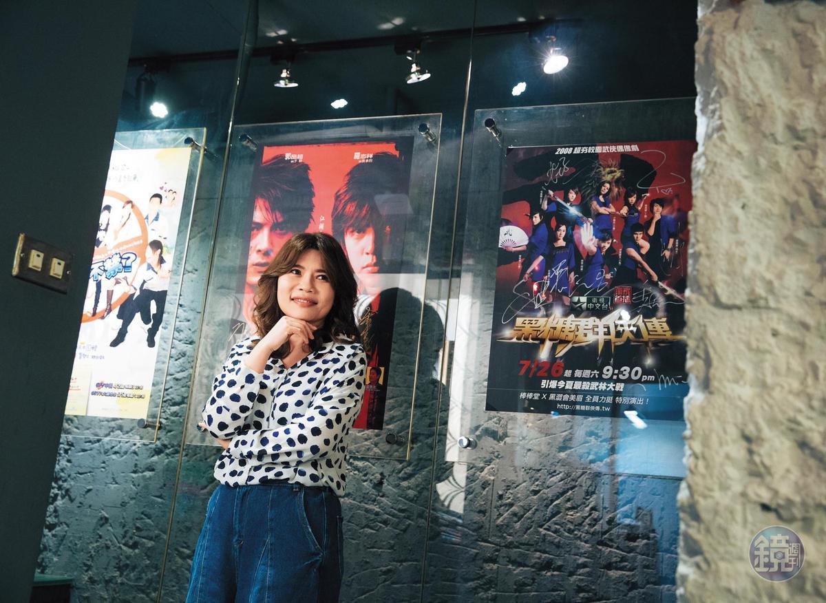 從電視製作人首度跨界擔任電影製片,柯宜勤對電影版《鬥魚》的票房極有信心。