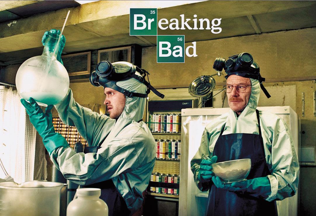 美劇《絕命毒師》描述化學老師與一名學徒聯手製毒,與吳嫌和李嫌的故事不謀而合。(翻攝網路)