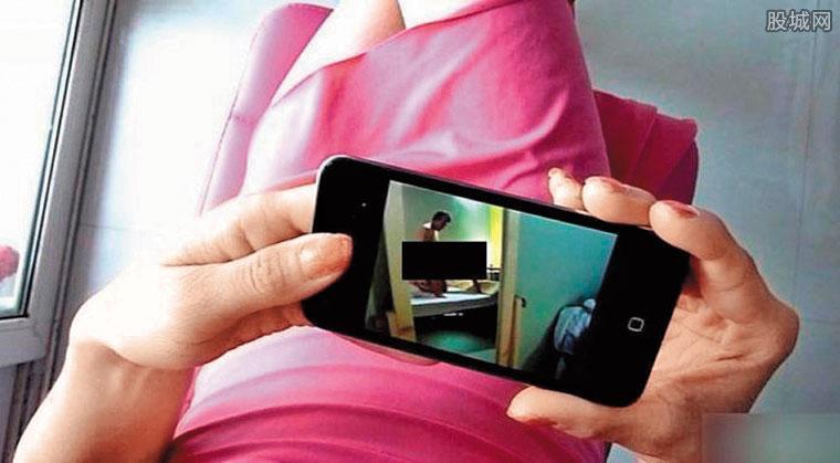 藍男行事謹慎,隨身攜帶的手機不是用來通訊,而是看色情片。(圖為示意畫面,非當事人。翻攝網路)