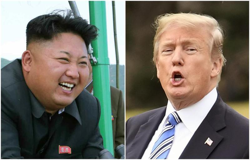 金正恩透過南韓特使,向川普遞交親筆信,川普同意將在5月舉辦會面。(東方IC)