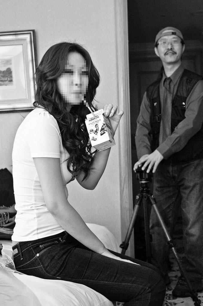 邵男曾是藝人劉畊宏婚禮攝影師,也是知名酒店經紀人。(警消提供)