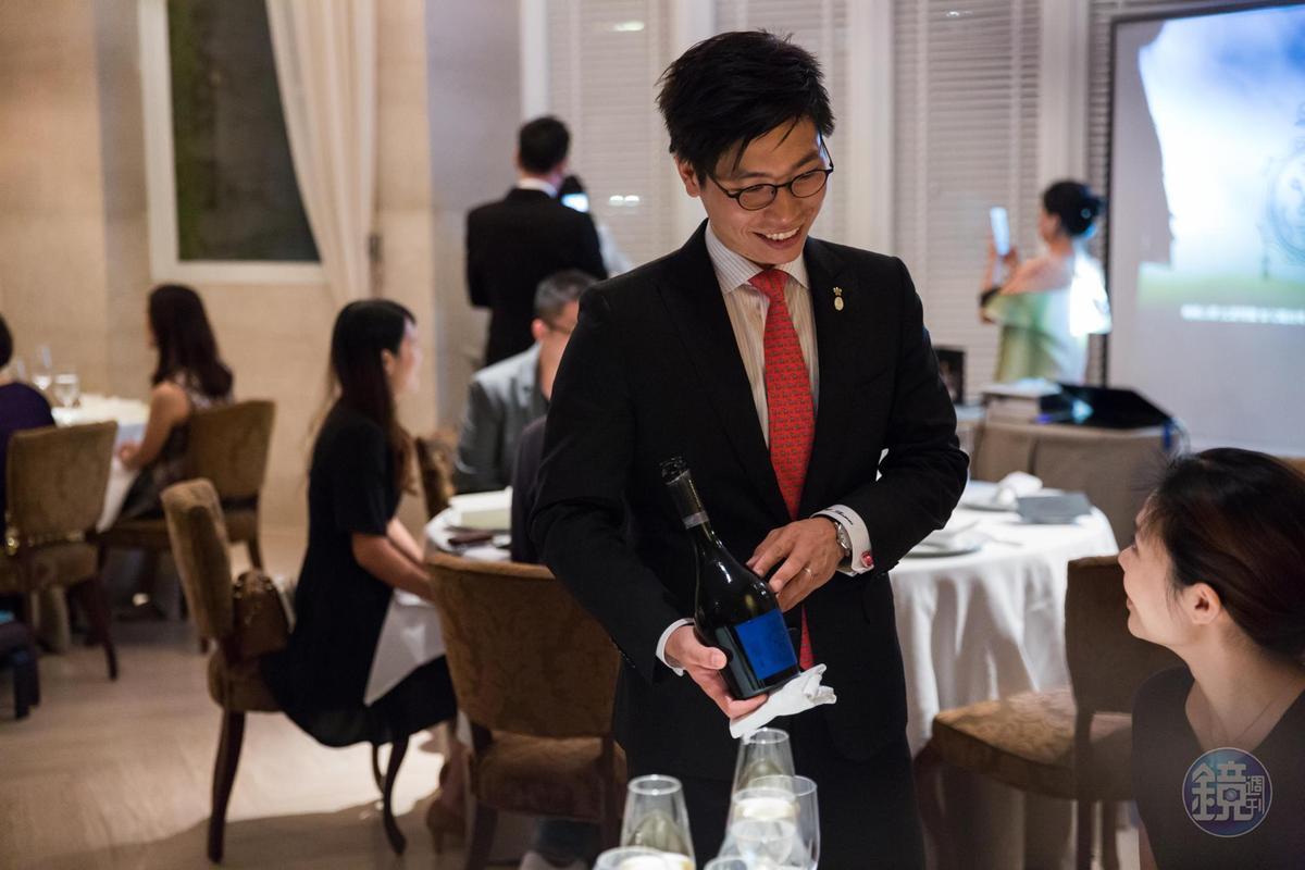 樂沐的侍酒師團隊相當專業,曾獲台灣區最佳酒單的肯定。