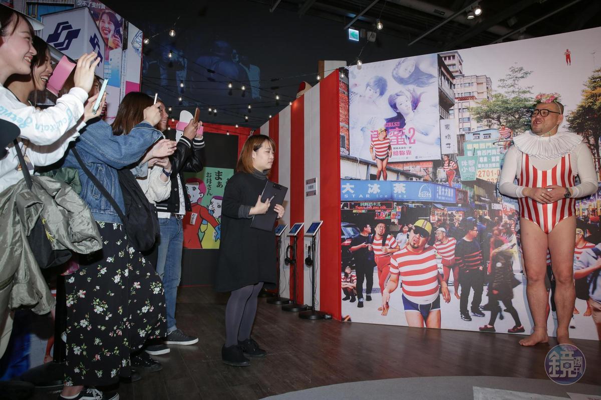「超酷奇樂園 in 台北」記者會現場有不少日本粉絲,不斷呼喊酷奇Cookie的名字。