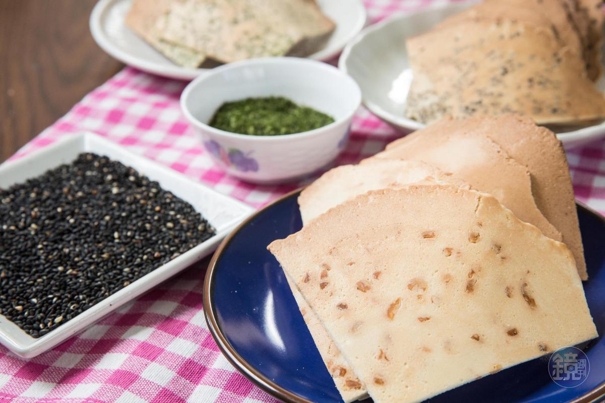 煎餅用料不手軟,幾乎每一口都吃得到花生顆粒。