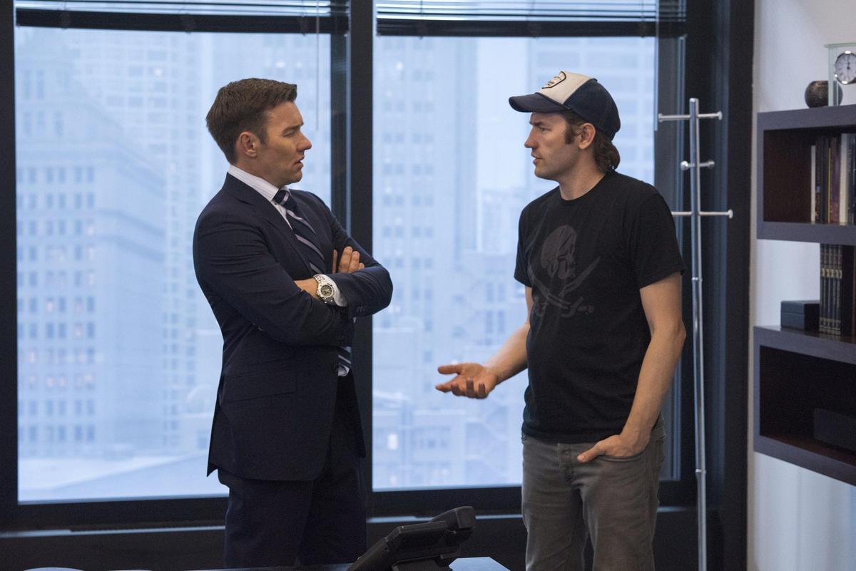 《老闆好壞》由喬爾的親哥哥納許執導,長得頗為相似的兄弟倆攜手在好萊塢打天下。(CatchPlay提供)