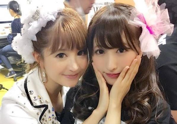 早安少女組前成員矢口真里(左)傳本月與小王梅田賢三結婚。(翻攝自矢口真里IG)