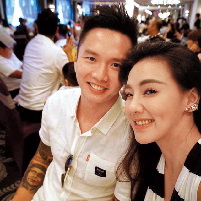 劉雨柔夫妻倆都熱愛運動,老公黃育仁還是職業格鬥選手。