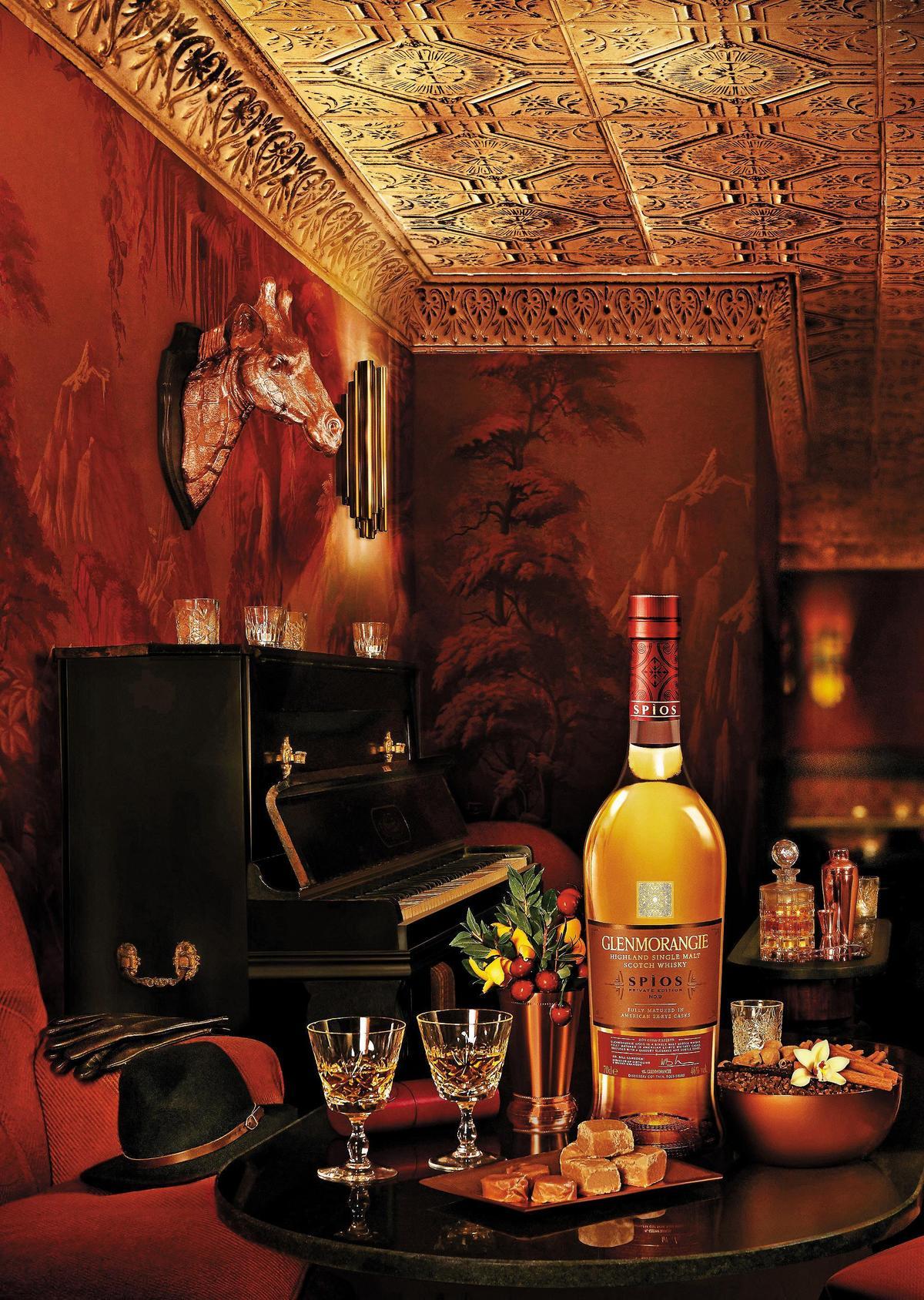 格蘭傑私藏系列第9款Spìos「辛香」,搶在春酒期間上市,犒賞回饋酒友的用心不言可喻。