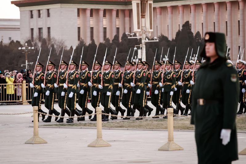 中國軍方的動態是台灣與美國軍事信號情報重要的合作項目。(東方IC)