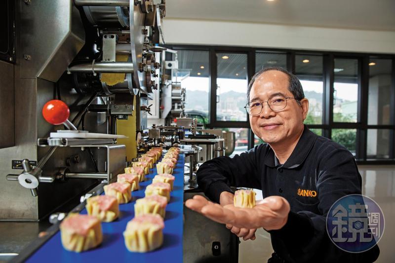 從負債5千萬元,到成為台灣最大的包餡機設備商,歐陽禹說自己只是一直在夾縫中求生存。