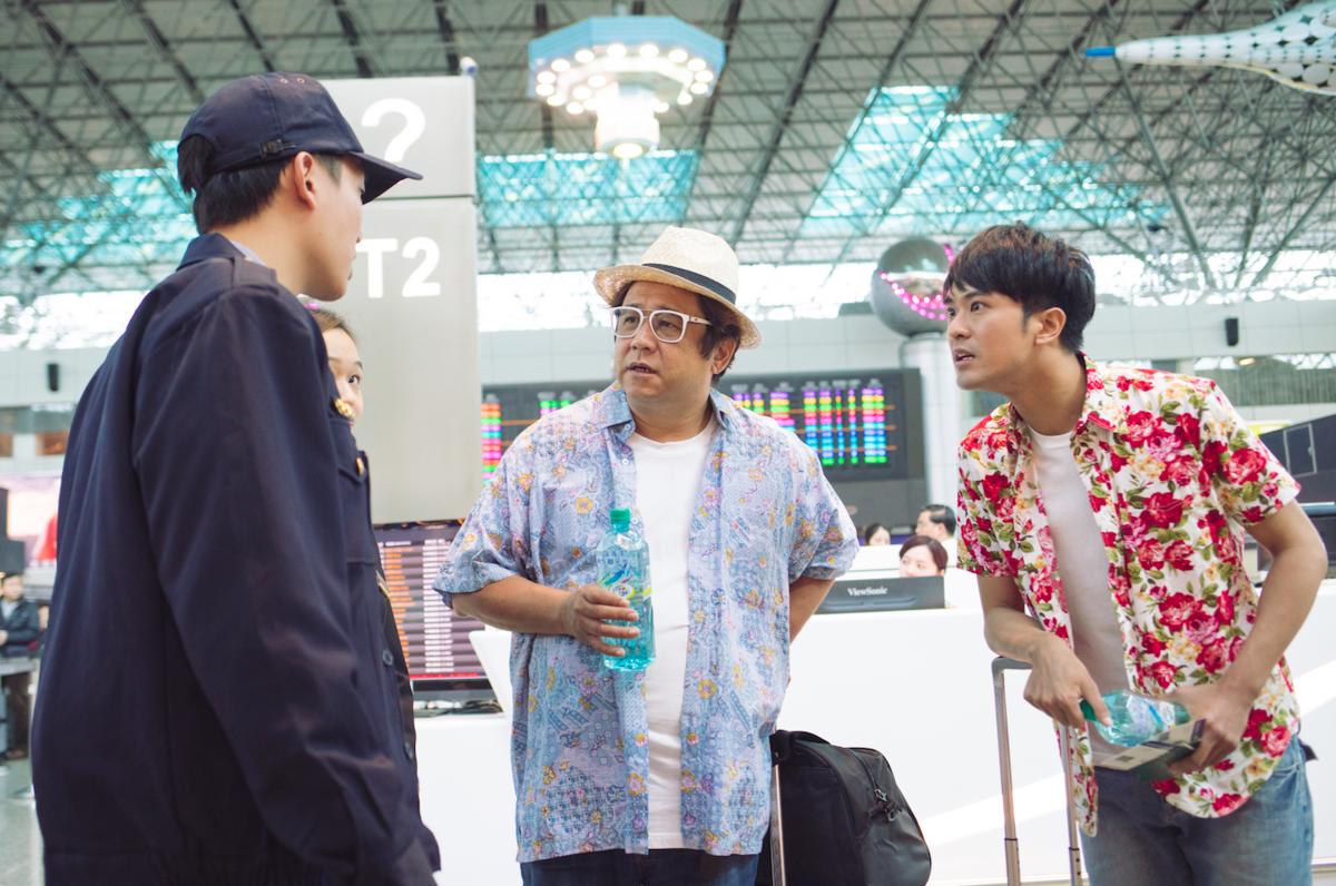 電影《花甲大人轉男孩》締造導演瞿友寧執導生涯最高票房記錄,他在在電影中也來客串一角。(氧氣電影)