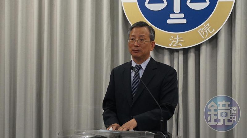 法官婚外情輕罰案延燒,司法院祕書長呂太郎(圖)坦言判決不符人民期待。司法院決研議在職務法庭中引進外部人。