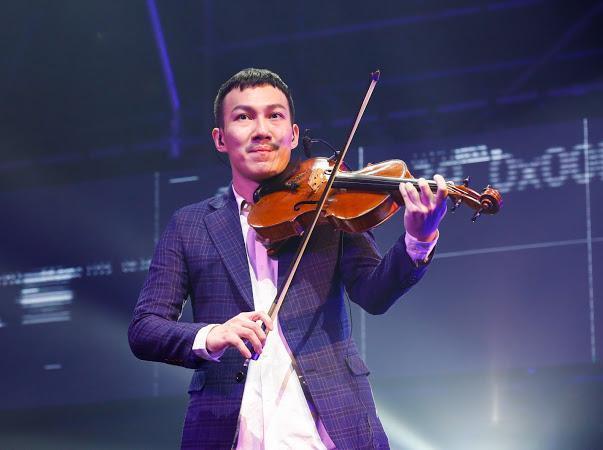 阿龔舉行音樂會,專心在自己熱愛的古典樂領域。