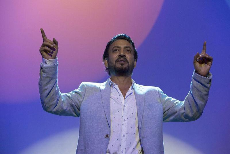 印度男星伊凡卡漢自曝得了罕見疾病,將會勇敢擊敗病魔。(車庫娛樂提供)