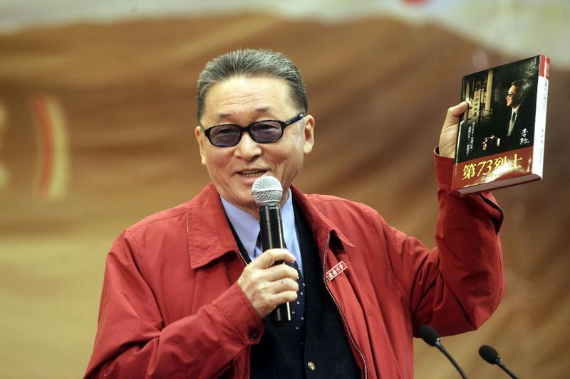 李敖是台灣知名歷史學家、作家,無黨籍立委,以及政論節目主持人。他一生數次入獄,卻屢敗屢戰,愈戰愈勇。(東方IC)