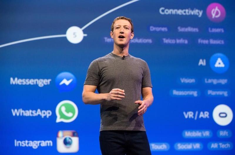 臉書創辦人祖克伯在沉默多天後,於台灣時間22日凌晨發表聲明「認錯」。(翻攝自祖克柏臉書)