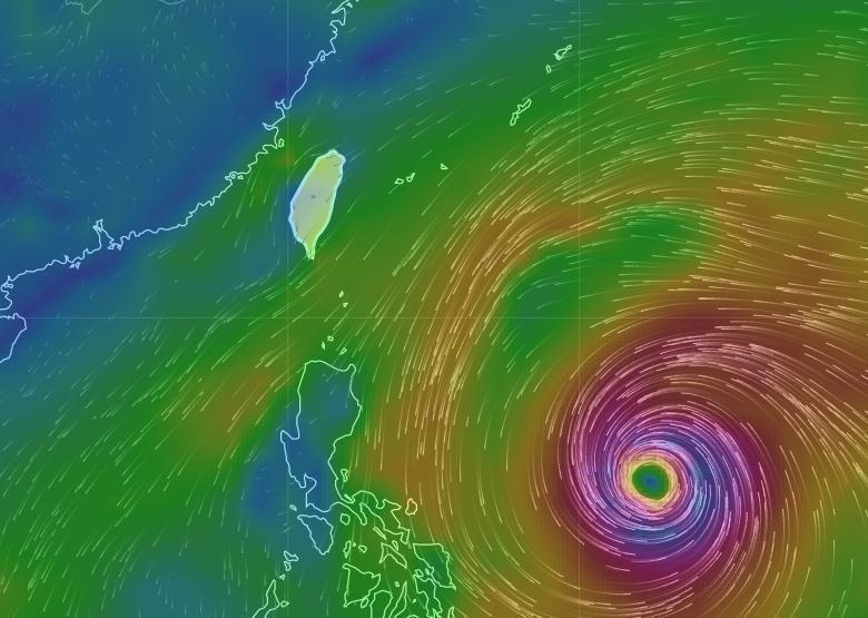 不排除下週形成今年第3號颱風「鯉魚」,目前對台灣無影響。(翻攝自中央氣象局網站)